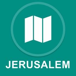 Jerusalem, Israel : Offline GPS Navigation
