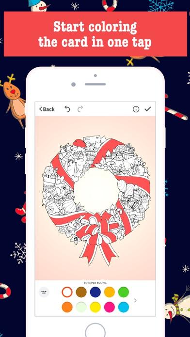 screenshot 5 for merry christmas card maker free greeting cards - Free Greeting Card Maker