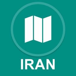 Iran : Offline GPS Navigation