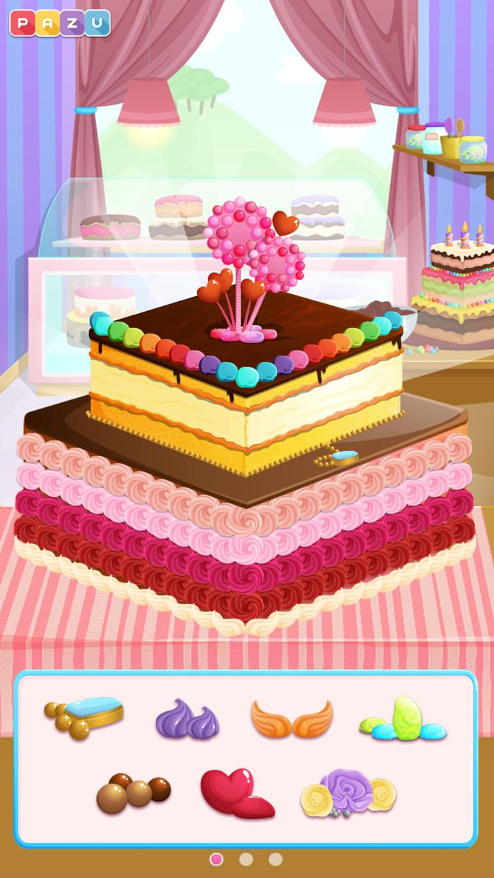 Cake Maker - Cooking games. Screenshot