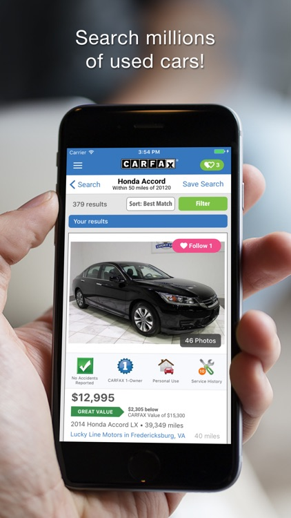 CARFAX – Find Used Cars for Sale app image