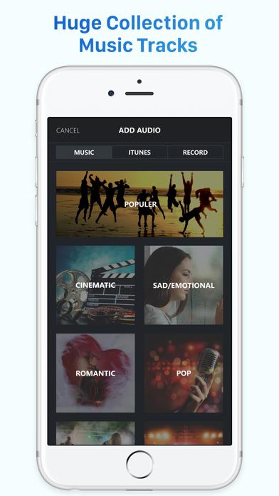 Video Editor Music – Movie Maker to Editing Videos screenshot two