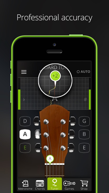 GuitarTuna – Tuner for Guitar, Bass and Ukulele app image