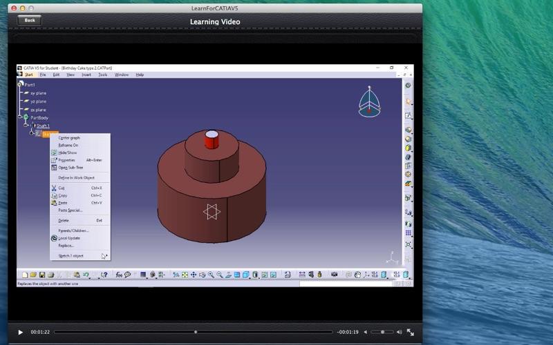 LearnFor CATIAV5 screenshot 3
