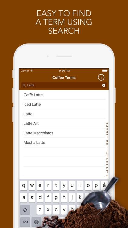 Coffee Terms screenshot-3