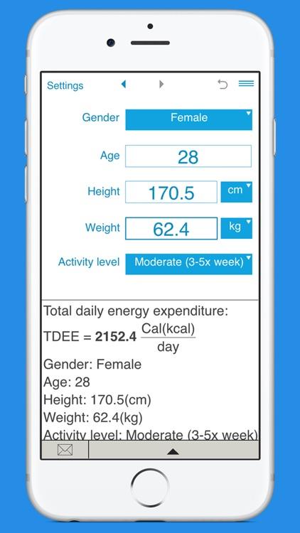 TDEE Calculator screenshot-3