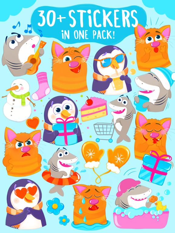 Screenshot #5 pour Nice Requin! Bon Chat et Pingouin De Kitty Aussi!