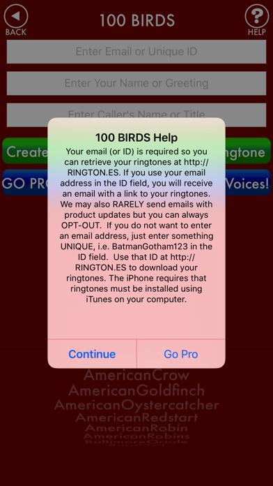100BIRDS + RINGTONES Bird Calls Tweets Sounds screenshot four