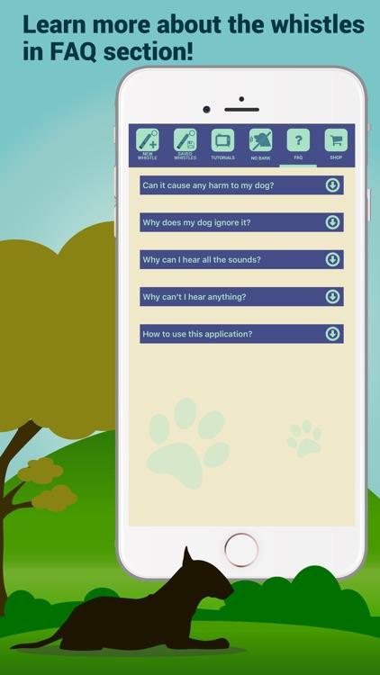 Dog Whistler – Whistle Sounds & Clicker Training screenshot-3