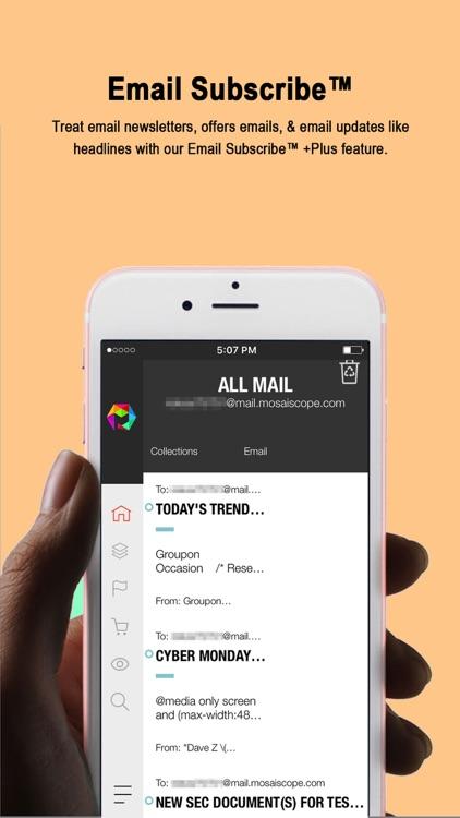 Mosaiscope™ - Custom RSS News screenshot-4