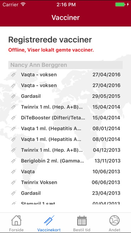 Danske Lægers Vaccinations Service