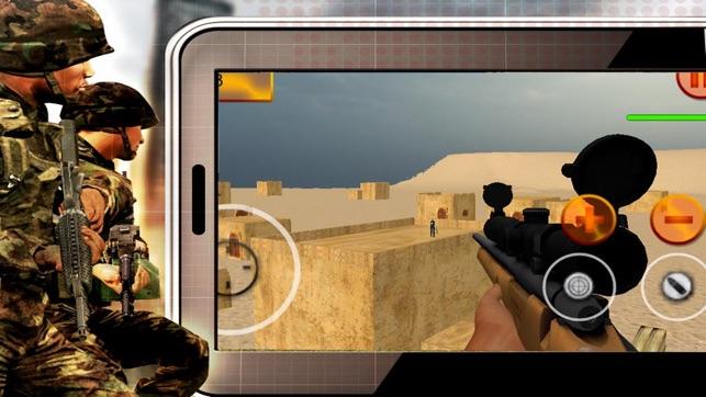 Attack Terrorist Shoot - Sniper Pro