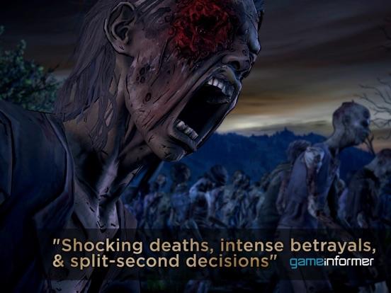 Ipad Screen Shot The Walking Dead: A New Frontier 2