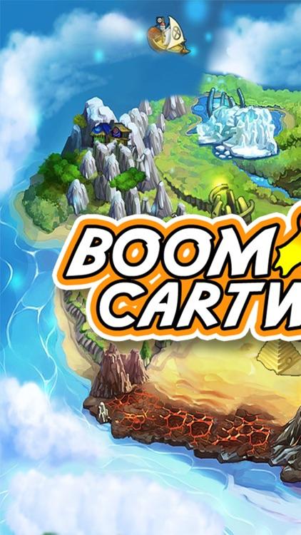 Rolling Boom Wheels-Fun Moto Happy Run Racing Game