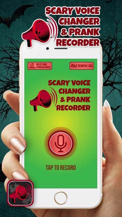 Scary Voice Changer & Prank Recorder