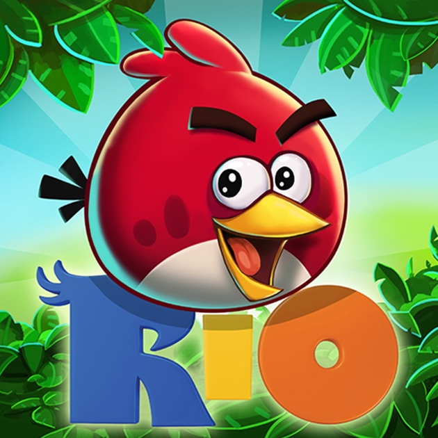 angry birds rio on the app store. Black Bedroom Furniture Sets. Home Design Ideas