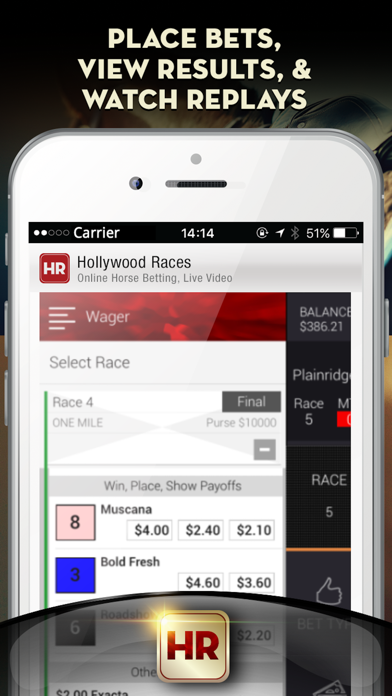 Hollywood Races – Online Horse Betting, Live Video | App Price Drops