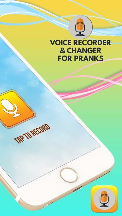 Voice Recorder & Changer for Pranks screenshot two