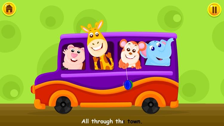 Wheels On The Bus - Kidlo Nursery Rhymes For Kids