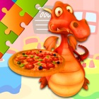 Pizza Puzzles - Drag and Drop Jigsaw for Kids icon
