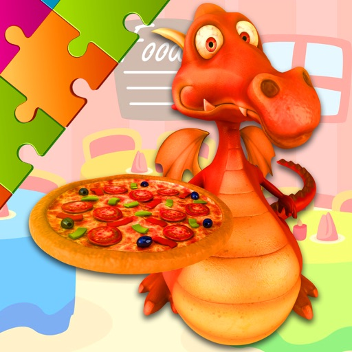 Pizza Puzzles - Drag and Drop Jigsaw for Kids iOS App
