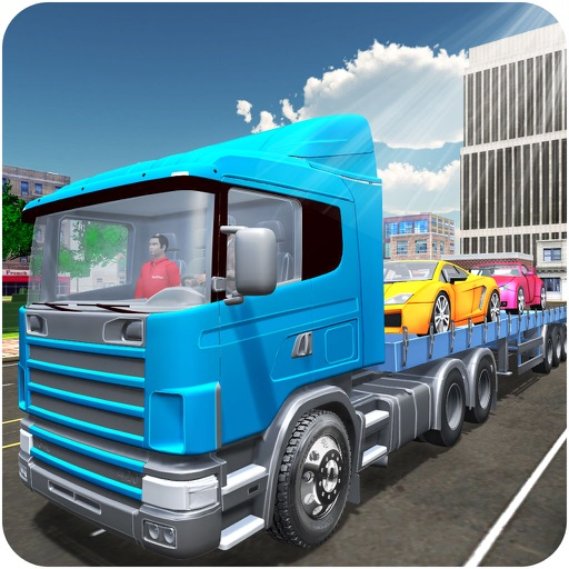 Car Transporter Truck 3D: Cargo Trucking Simulator by