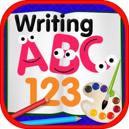 ABC 123 Writing Coloring Book Free
