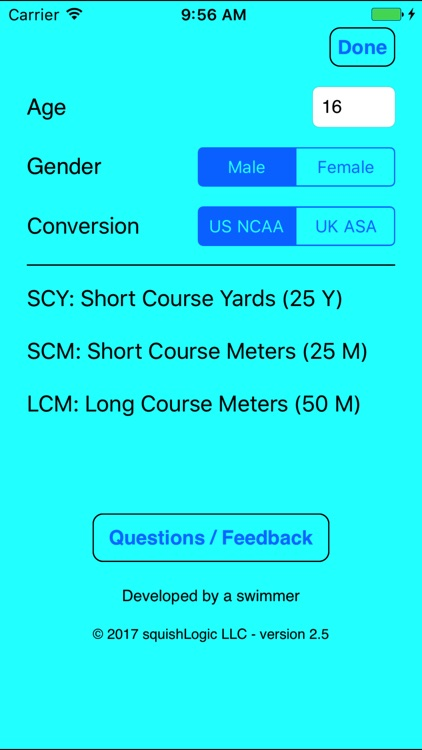 Swim Converter screenshot-3