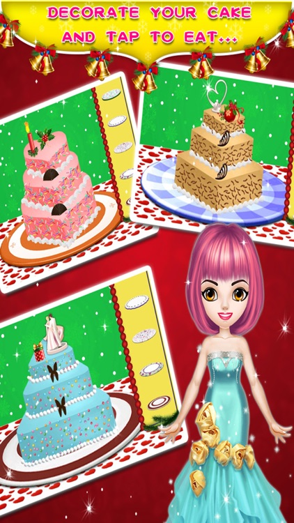 Xmas Birthday Cake Maker screenshot-3