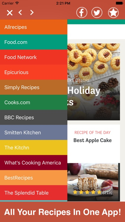Recipes All In One