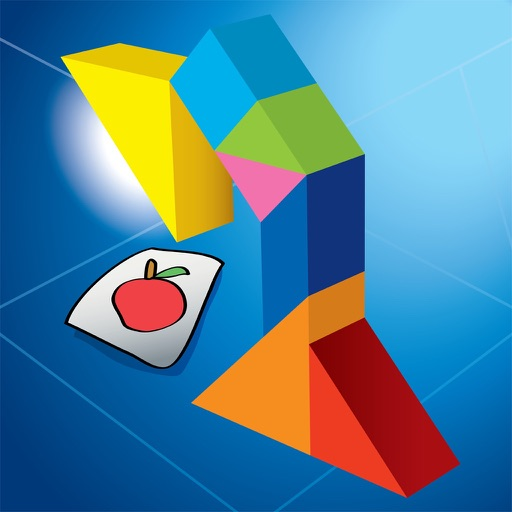 Kids Learning Puzzles: Houseware, My Tangram Tiles iOS App