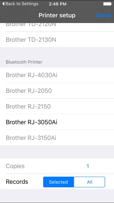 Label Print for brother screenshot two
