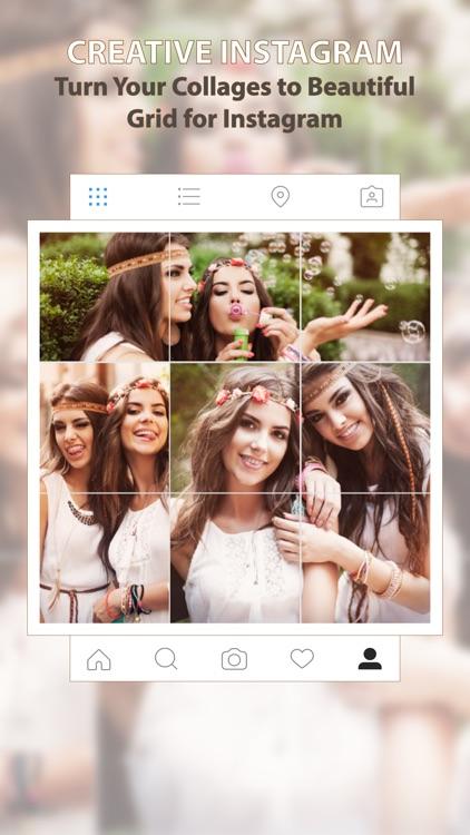 Instagrid Pro - Photo Collage Maker For Instagram