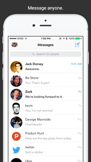 ‎SMessenger - SMS Text Messaging, Voice, and Video Screenshot