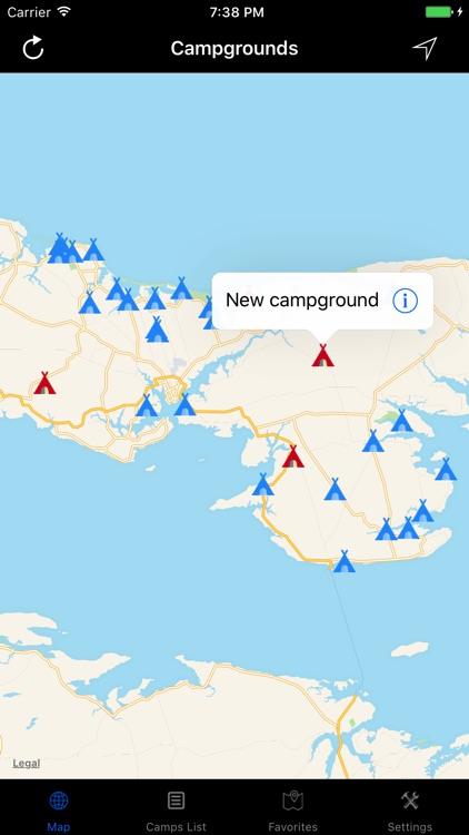 Prince Edward Island – Campgrounds & RV Parks screenshot-2