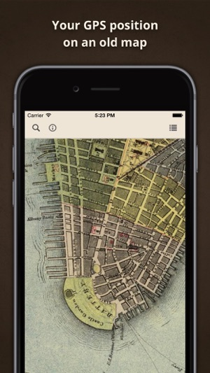 Old Maps Online on the App Store