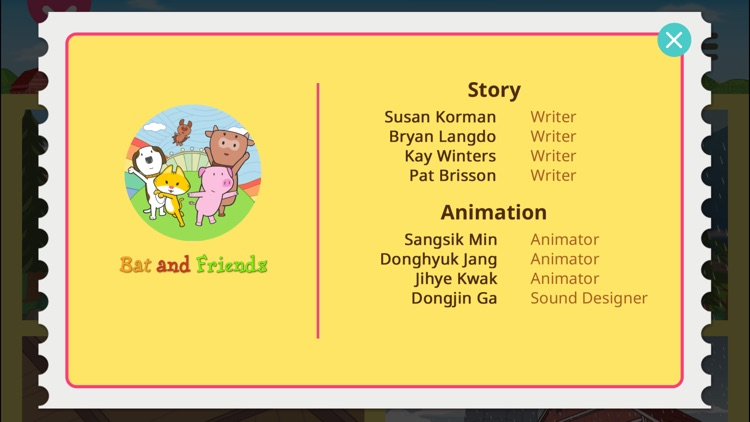 Bat and Friends - Little Fox Storybook screenshot-3