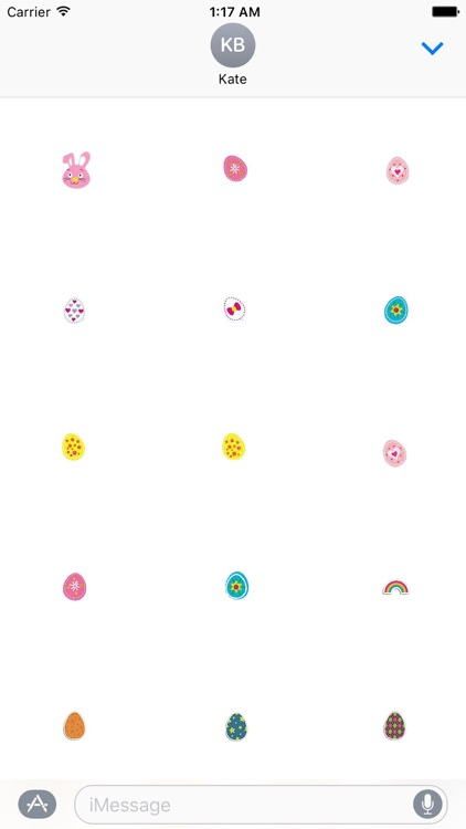 Many Eggs Much Lucky in Easter Sticker screenshot-3