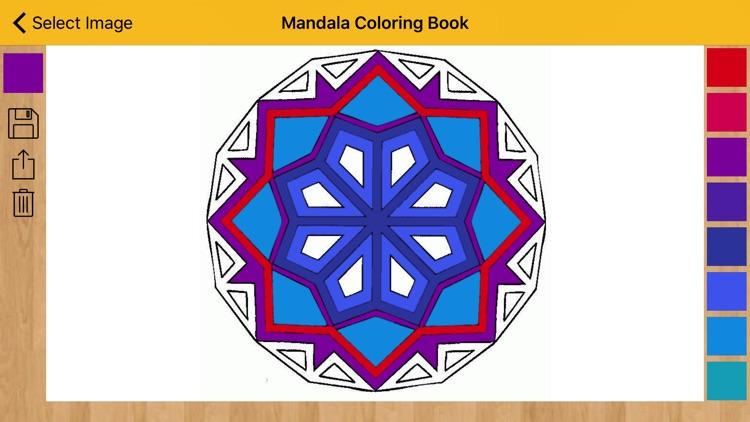 Mandala Coloring Book - Coloring Pages & Designs screenshot-4