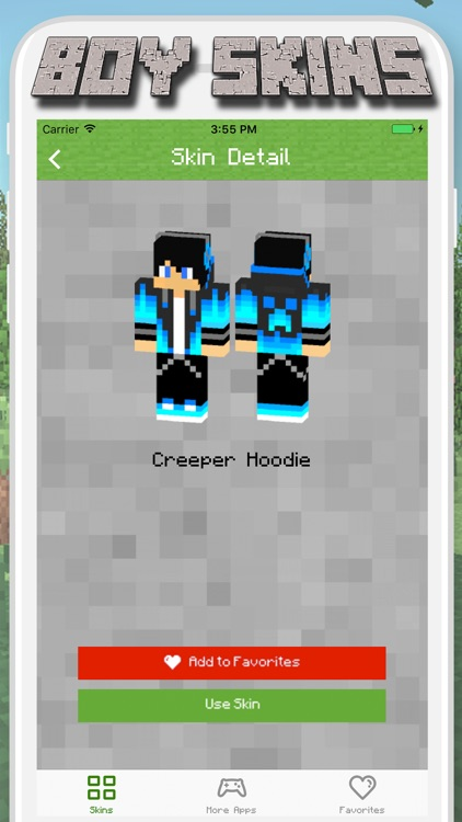 Boy Skins for Minecraft PE - MCPE Skins Free screenshot-3