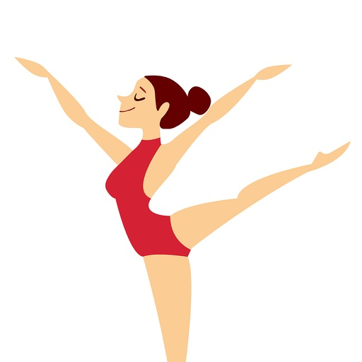 GymnastMoji - Gymnast Athlete Emojis & Stickers