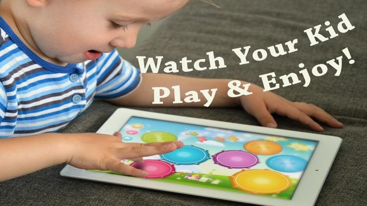 Babies Drums Kit - Music Game With Nursery Rhymes screenshot-0