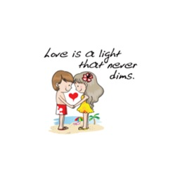 Lover Talk stickers by wenpei