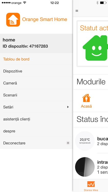 Orange Smart Home screenshot-0