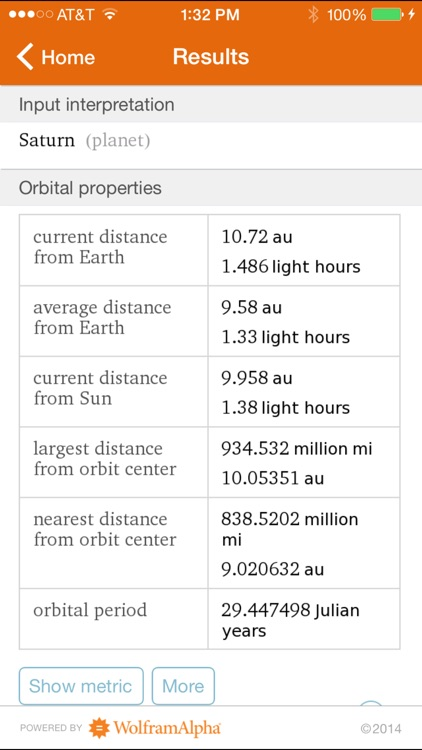 Wolfram Planets Reference App