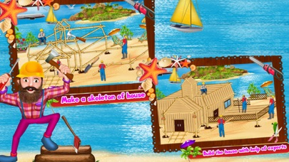 Seaside Dream House Builder screenshot four