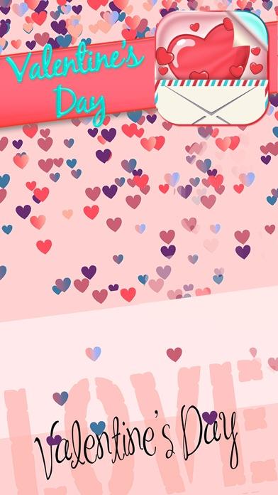 Valentinstag Gruß Karten Frei EinladungenScreenshot von 4