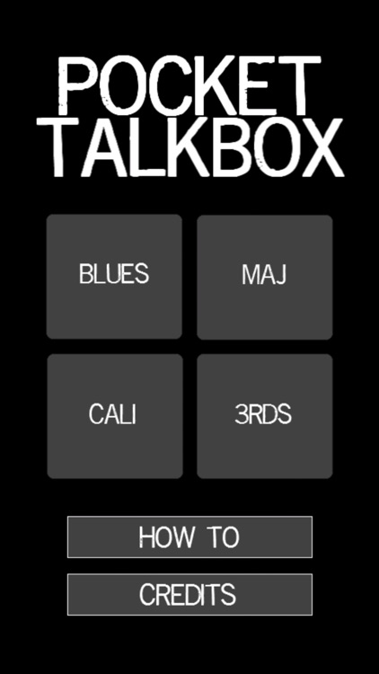 Pocket Talkbox