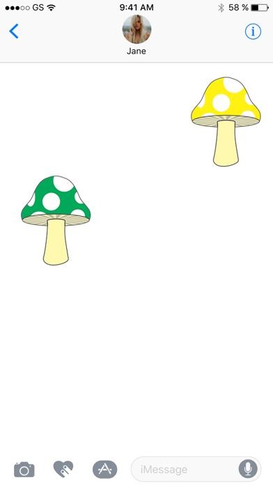 蘑菇貼紙包!屏幕截圖2