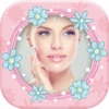 可愛い ピンク 写真 フレーム ために 女の子 - 画像 編集者アイコン